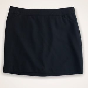 SMART SET Black Lined Mini Skirt
